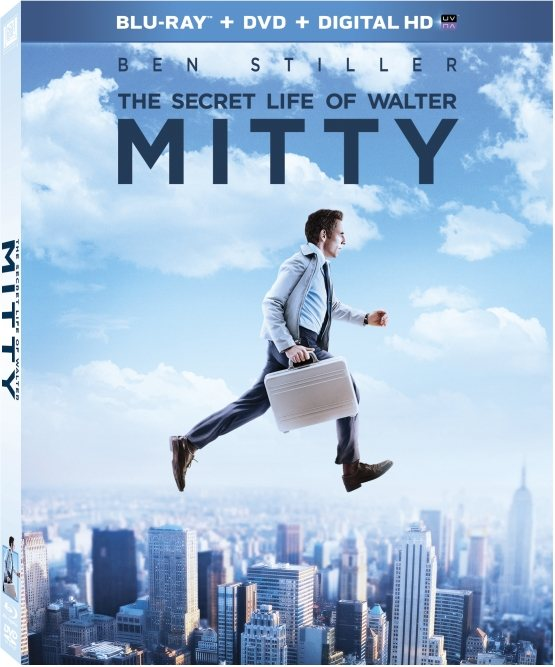 The Secret Life of Walter Mitty Blu-ray Cover