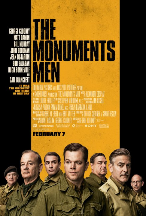 the monuments men whysoblu poster