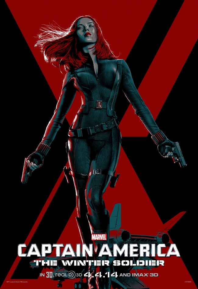Cap IMAX Black Widow