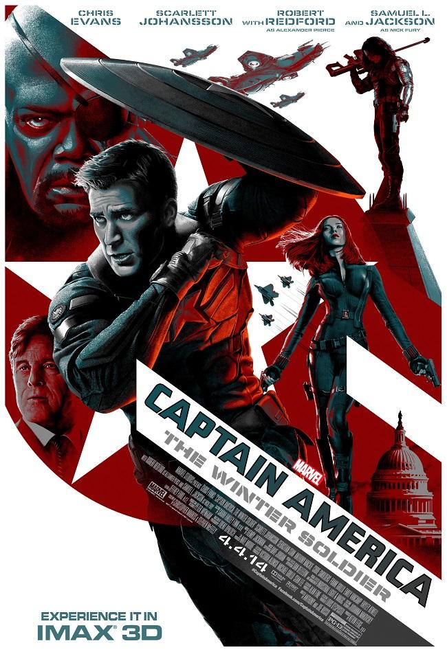 Cap Winter Soldier IMAX
