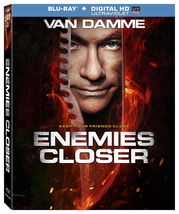Enemies Closer Blu-ray Cover
