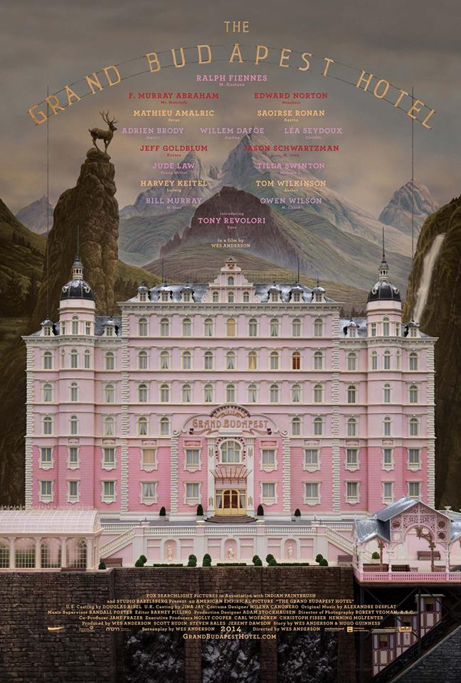The Grand Budapest Hotel whysoblu poster 2