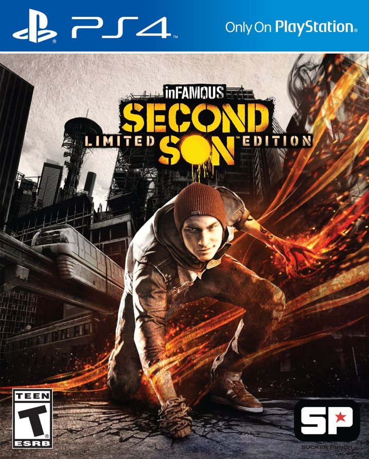 inFAMOUS Second Son Cover Art