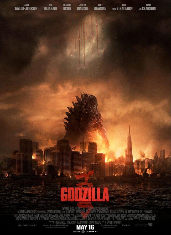 Godzilla 2014 Theatrical Poster
