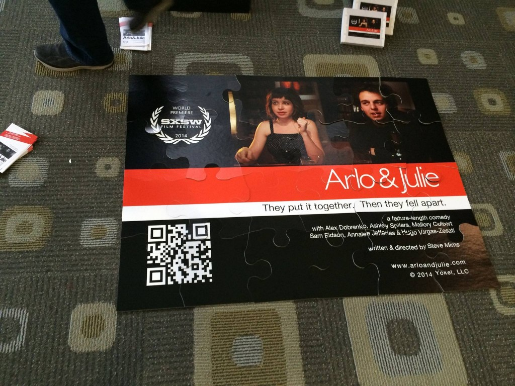 arlo and julie whysoblu poster