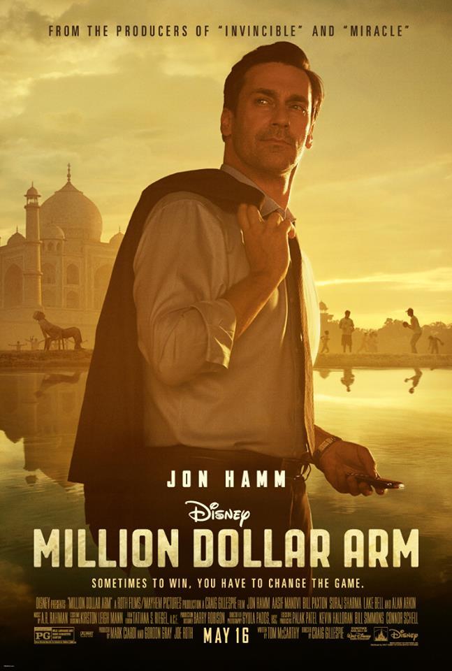 million dollar arm whysoblu poster