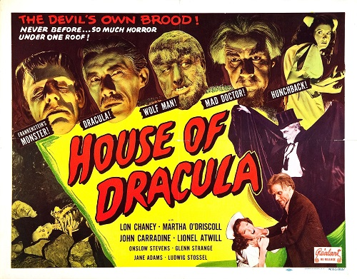 House Of Dracula poster