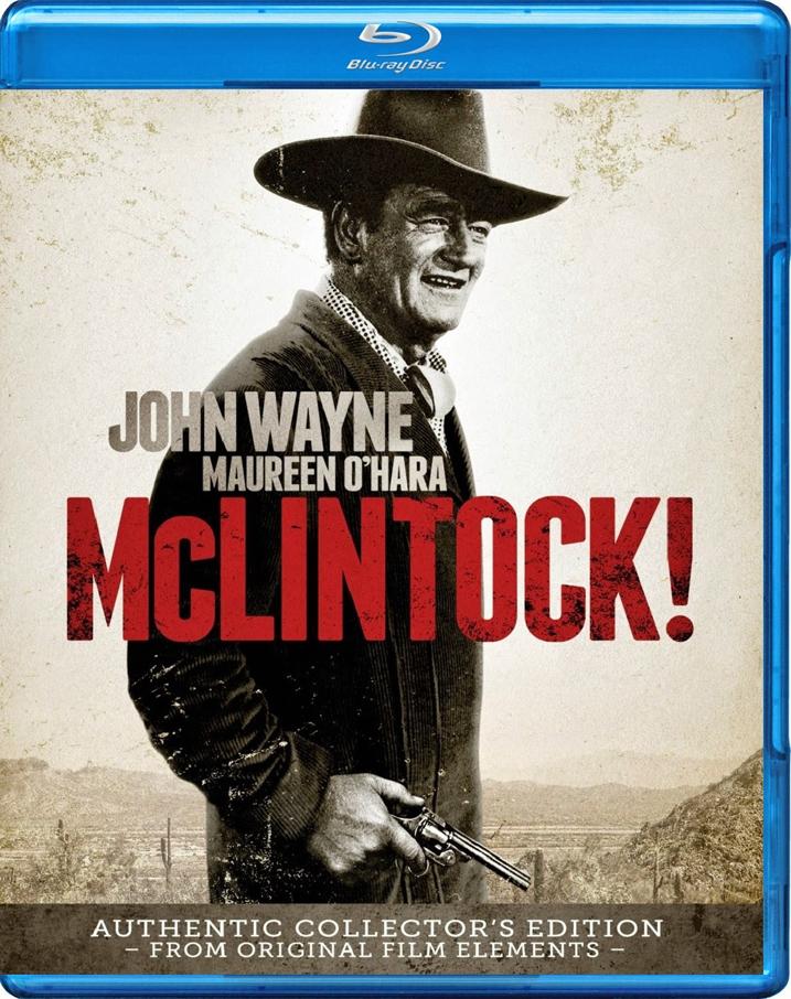 McLintock-Blu-ray