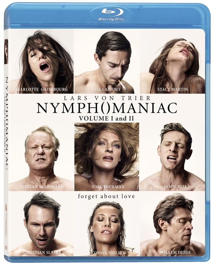 Nymphomaniac Blu-ray Cover