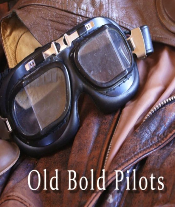 Old Bold Pilots Poster