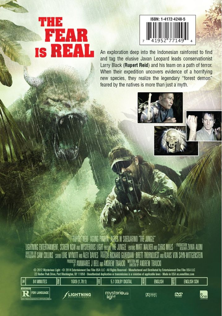 The Jungle Back DVD Cover