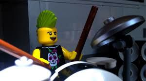The LEGO movie drumroll