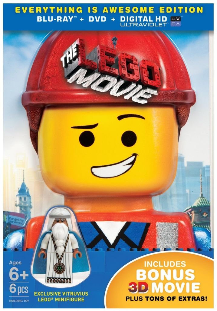 The Lego Movie Blu-ray Case