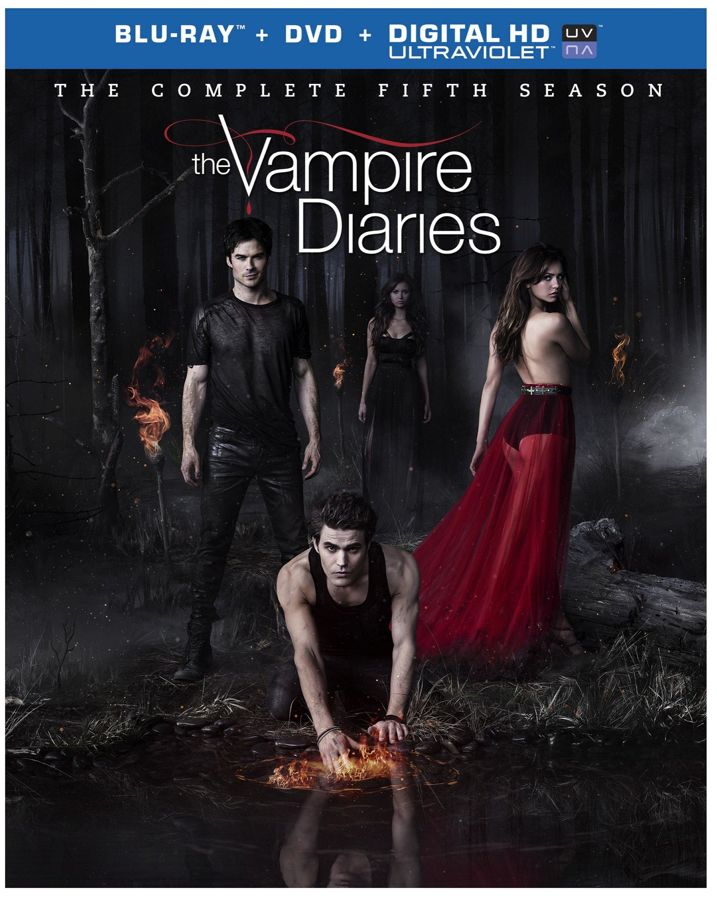 The Vampire Diaries Season 5 Blu-ray Cover Art