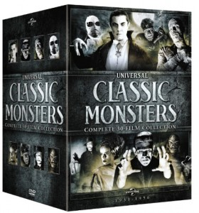 Universal Monsters box set