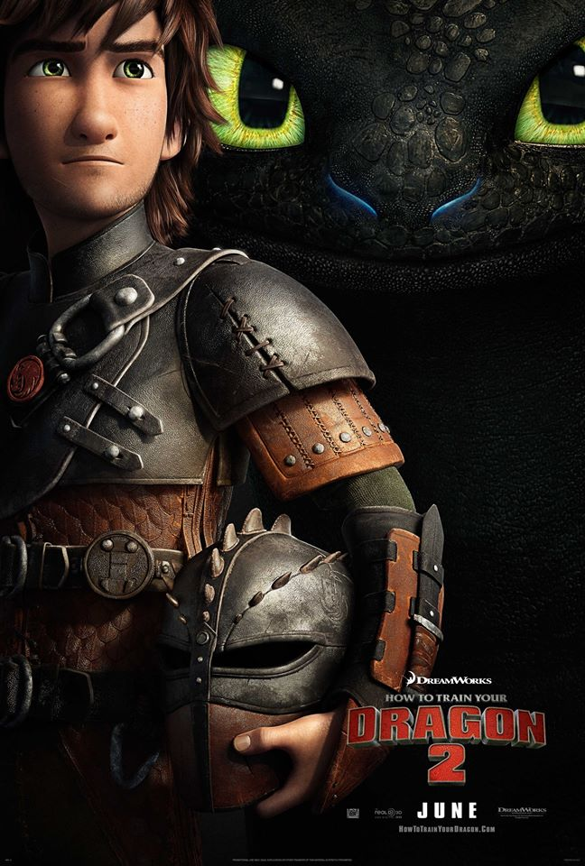 how to train your dragon 2 whysoblu poster 2