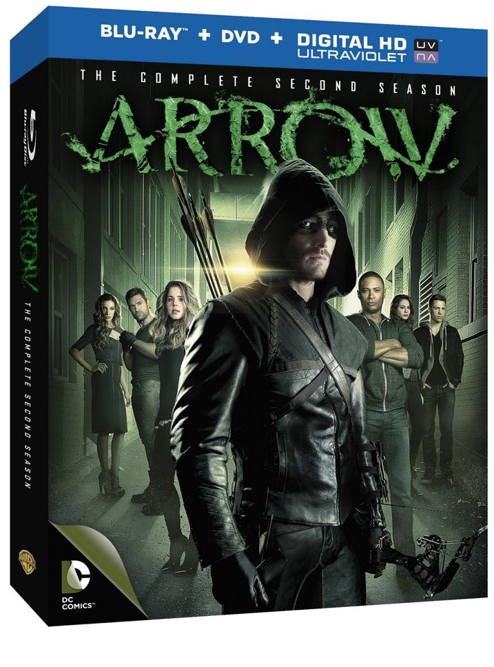 Arrow The Complete Second Season Blu-ray
