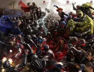 Avengers Age of Ultron Full Poster