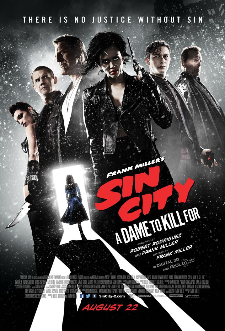 Sin City A Dame To Kill For Comic-Con Poster