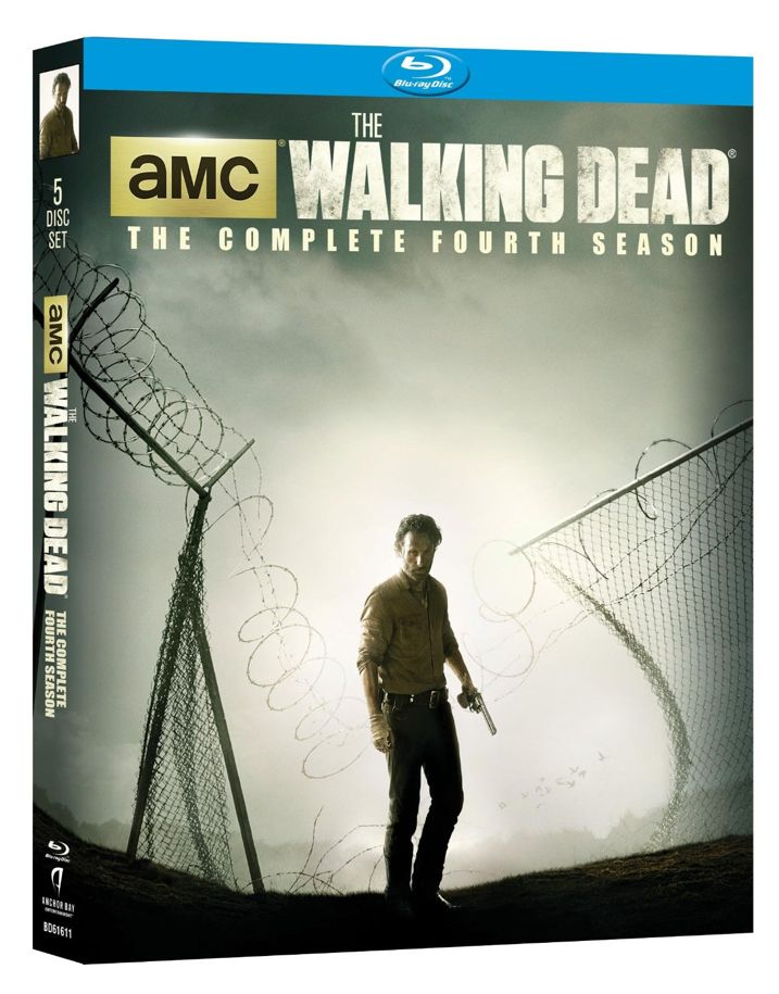 The Walking Dead Season 4 Blu-ray Cover Art