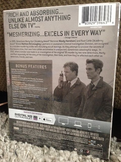 True Detective Blu-ray Unboxing 2