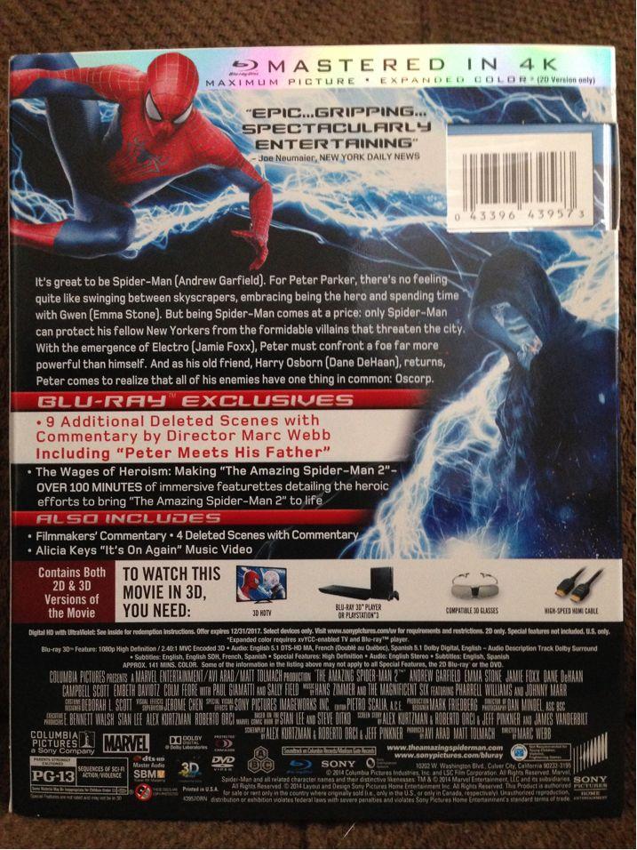 Amazing Spider-Man 2 002