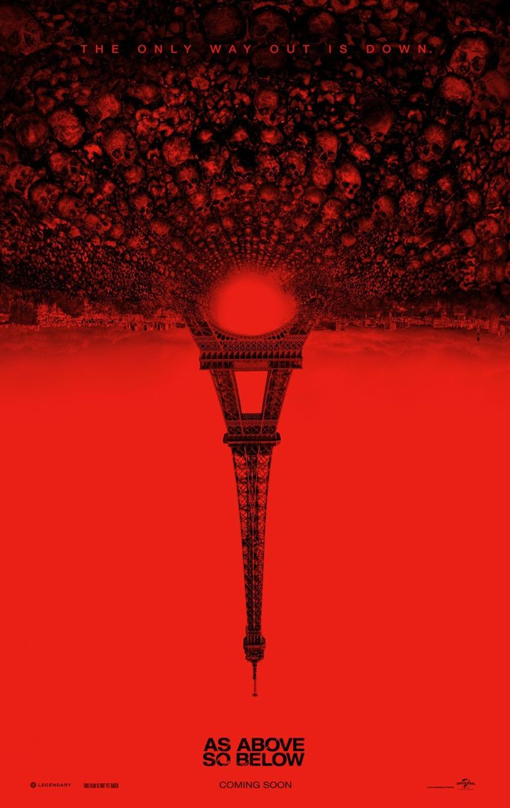 As Above So Below (Movie Review) Poster