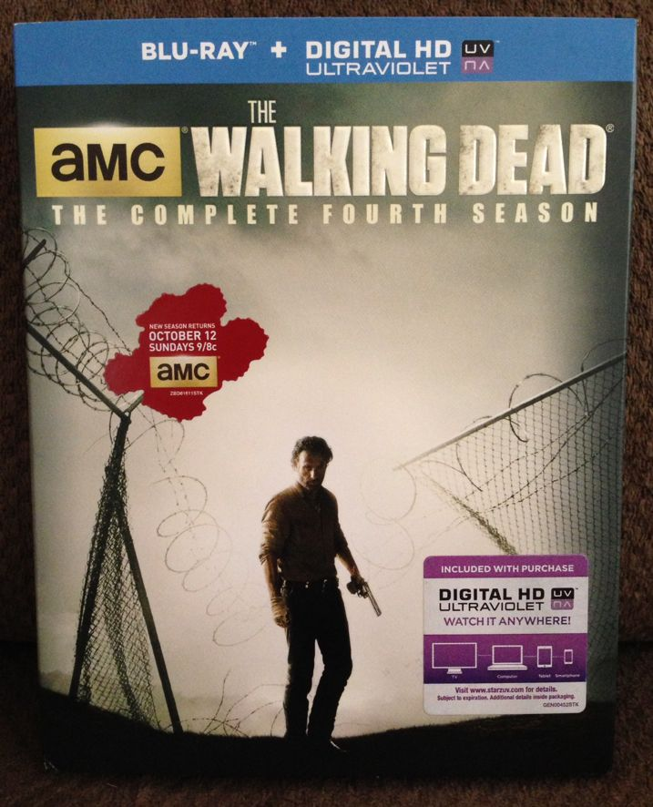 The Walking Dead Season 4 Blu-ray Unboxing