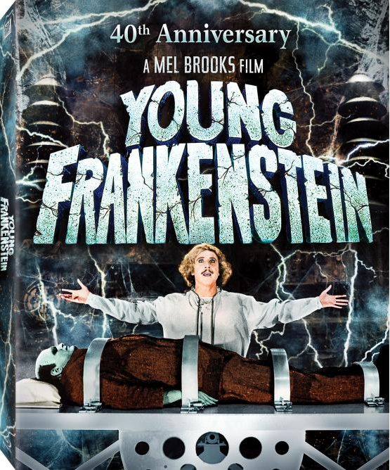 Young Frankenstein Blu-ray 40th Anniversary