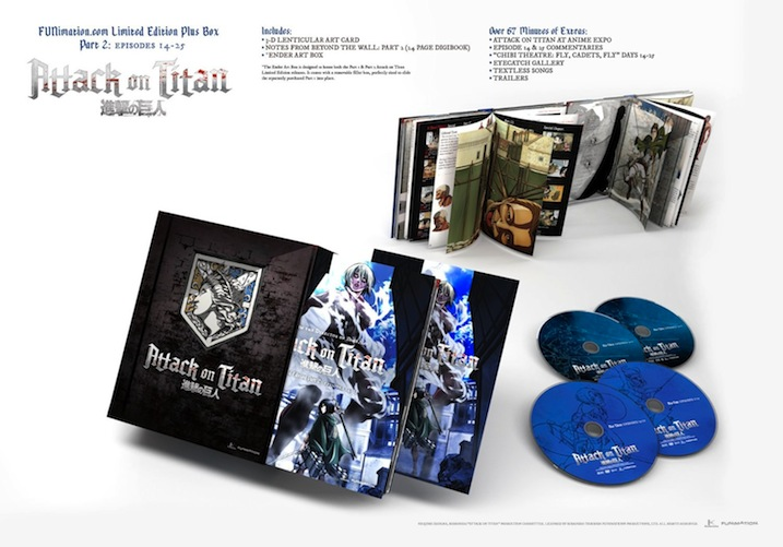 Attack on Titan Part II Limited Edition