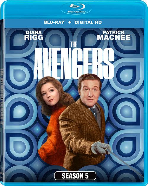 Avengers-Season 5-Blu-ray