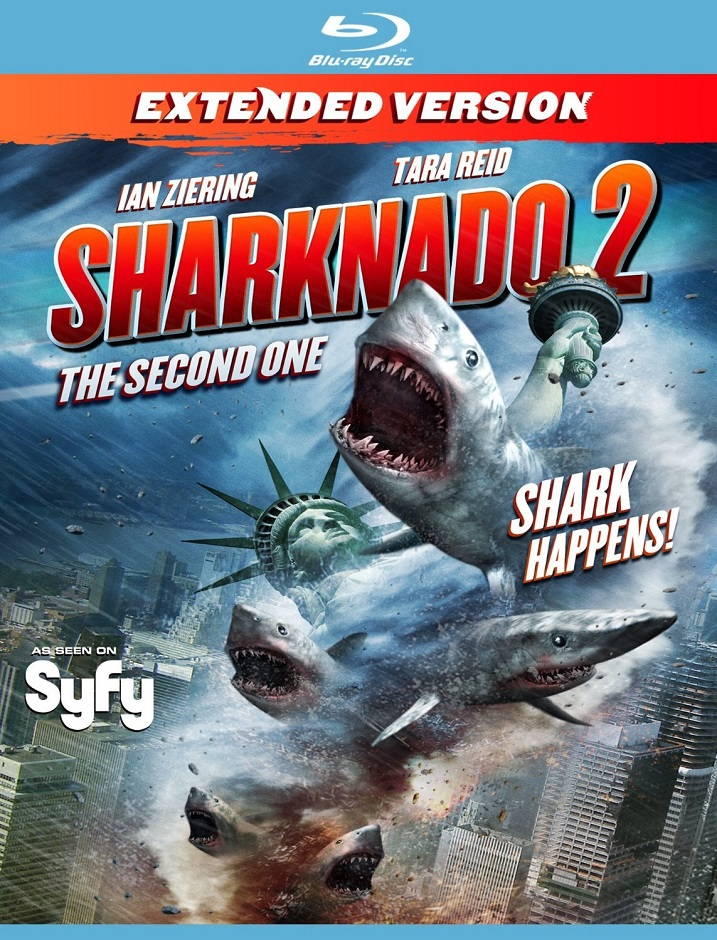 Sharknado 2-Blu-ray