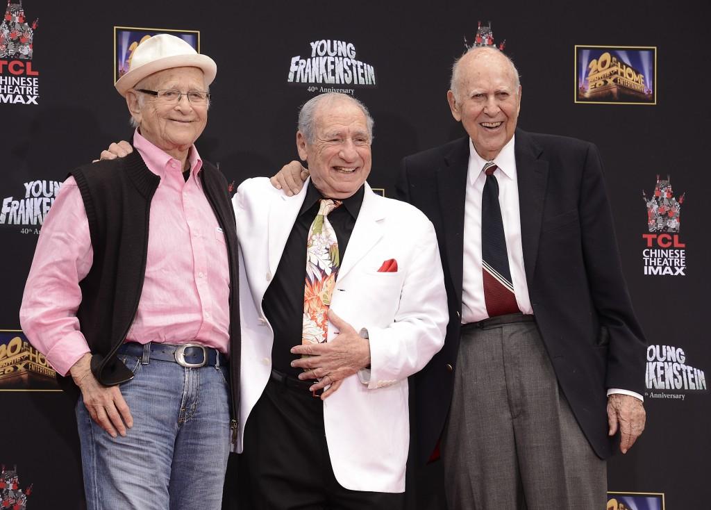 Mel Brooks, Norman Lear, Carl Reiner