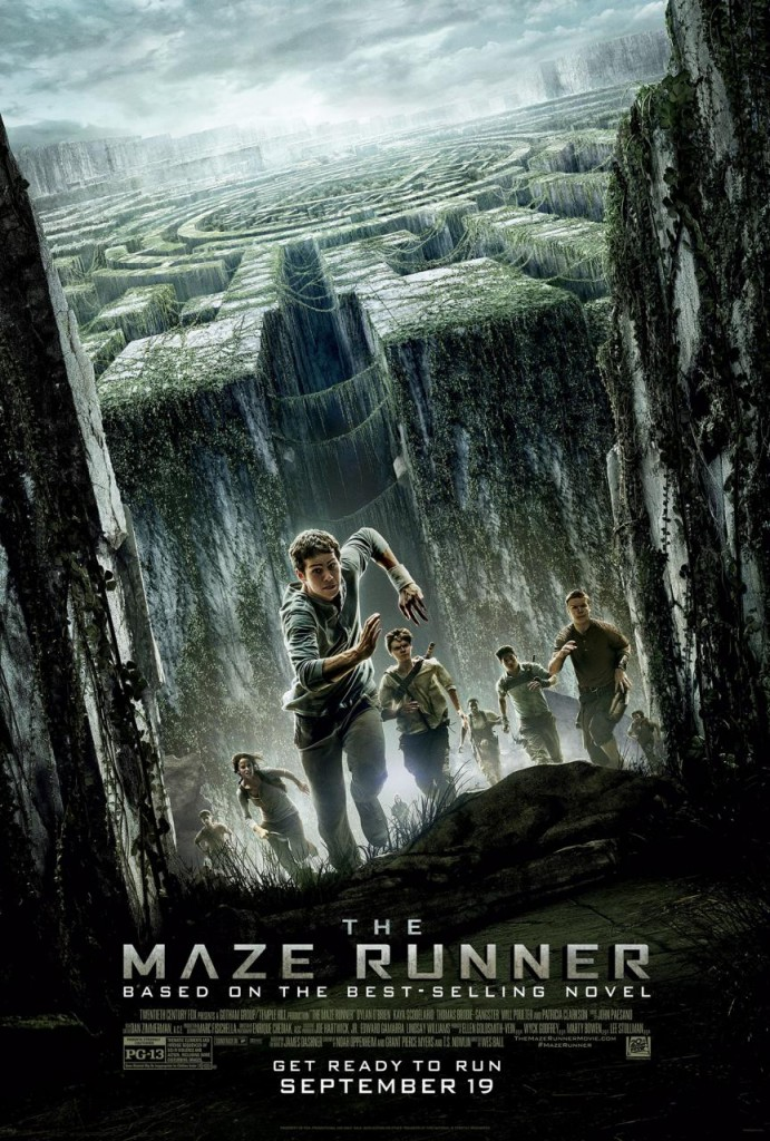 the maze runner whysoblu poster 2