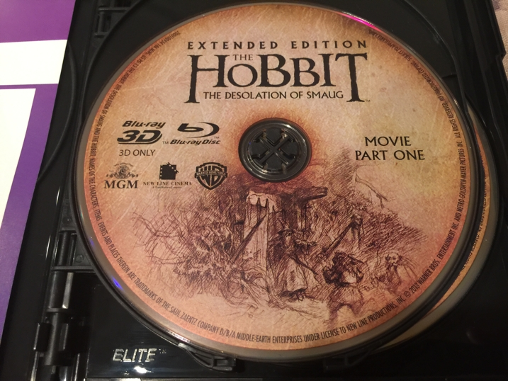 The Hobbit Desolation of Smaug Blu-ray Disc 1