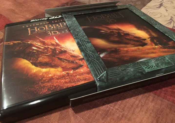 The Hobbit Desolation of Smaug Extended Edition Blu-ray