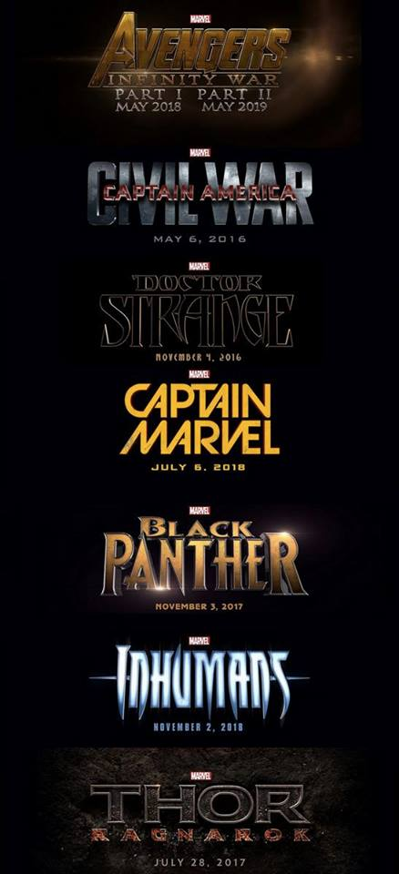 Marvel Studios Unveils Phase 3 Of Marvel Cinematic Universe At Why So Blu
