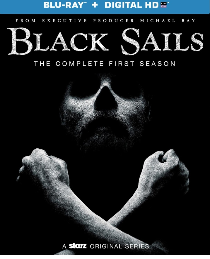 Black Sails Blu-ray Cover