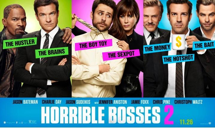 Horrible Bosses 2 Movie Poster