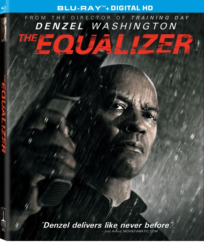 The Equalizer Blu-ray Cover Art