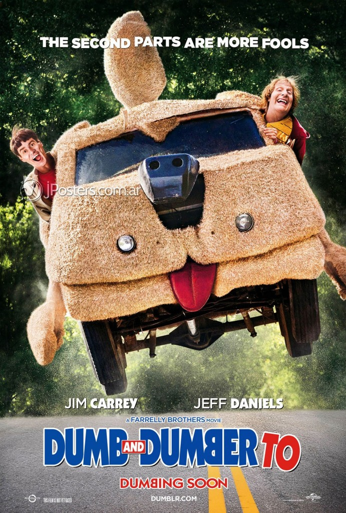 dumb and dumber to whysoblu poster