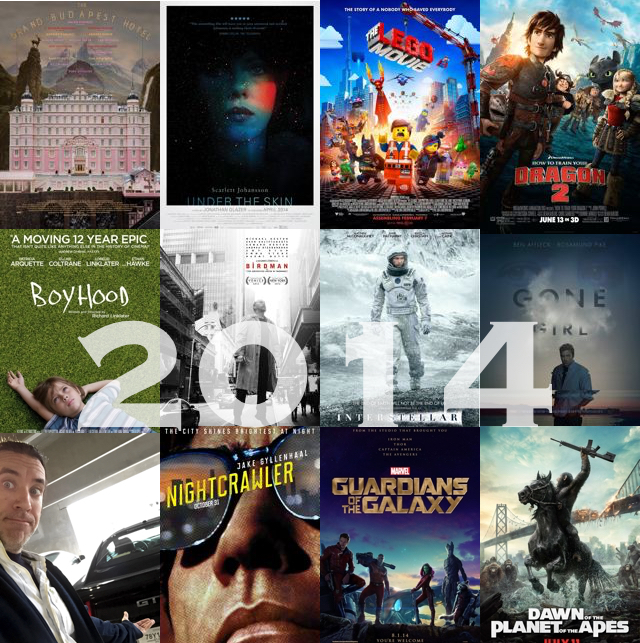Brian's TOP 10 Films of 2014