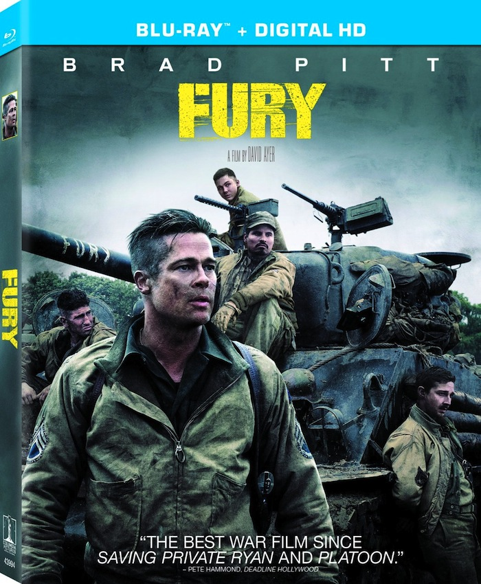 Fury (Blu-ray Review)
