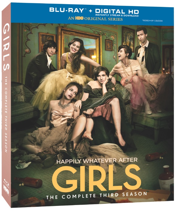 Girls-Season 3-Blu-ray