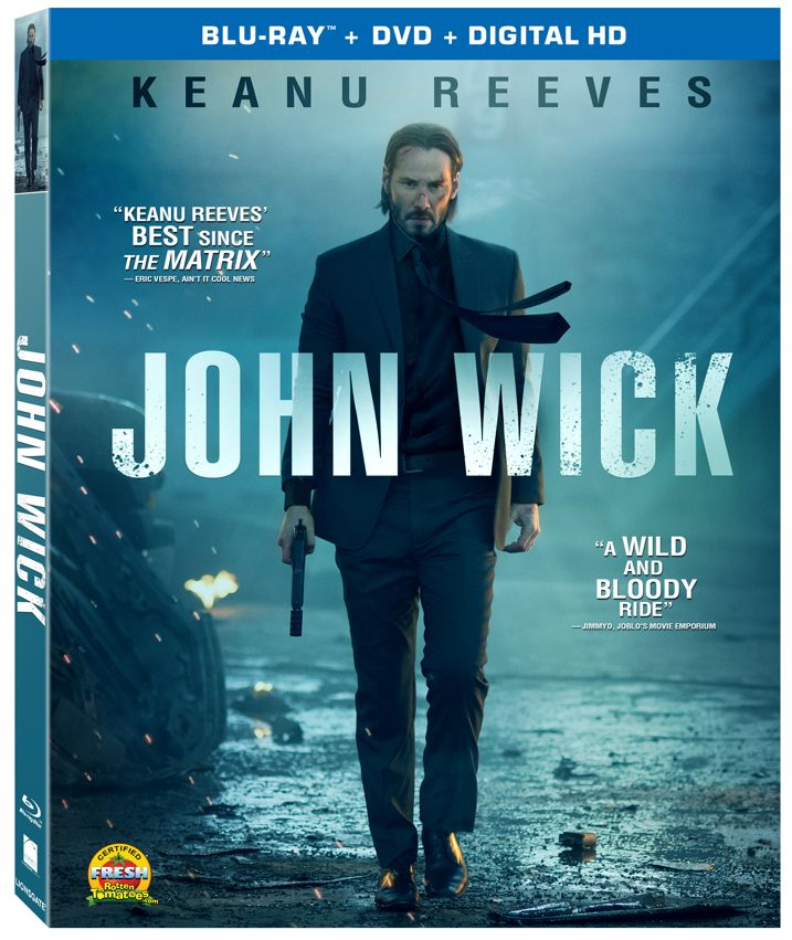 John Wick Blu-ray Cover Art