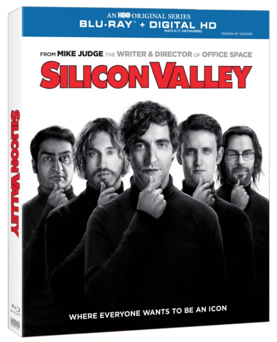 Silicon Valley Blu-ray Cover Art