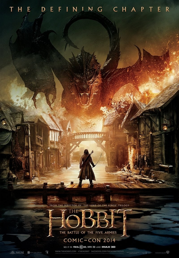 The Hobbit The Battle of Five Armies Movie Poster