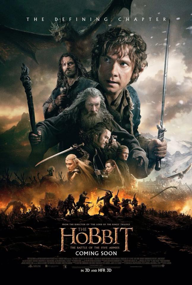 hobbit battle of five armies whysoblu poster