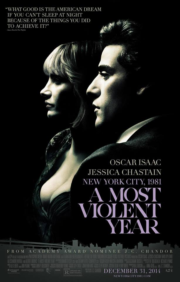 most violent year whysoblu poster