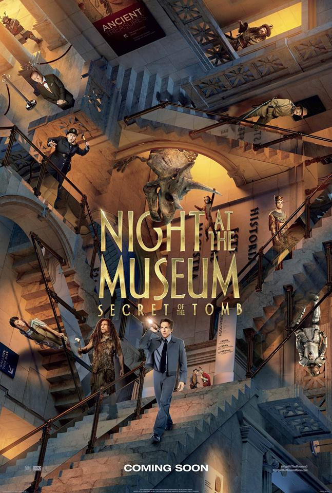 night at the museum 3 whysoblu poster
